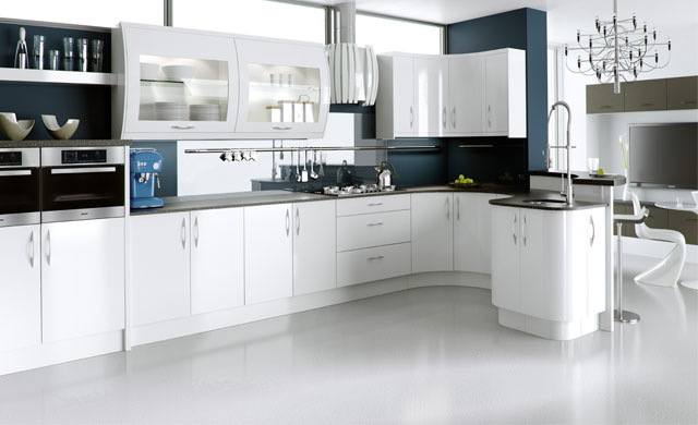 High gloss kitchens for Kitchen ideas high gloss