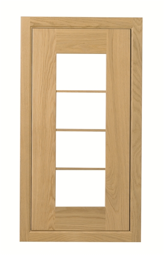 iona glass frame doorset